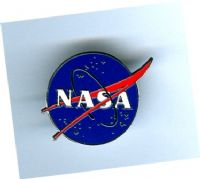 "NASA Vector Lapel Pin (1""/25mm dia.)"